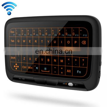 H18+ 2.4GHz Mini Wireless Keyboard Full Touchpad with 3-Level Adjustable Backlight gaming wireless mouse and wireless keyboard