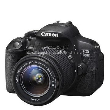 Cheap Canon EOS 700D + EF-S 18-55mm IS STM SLR Camera Kit