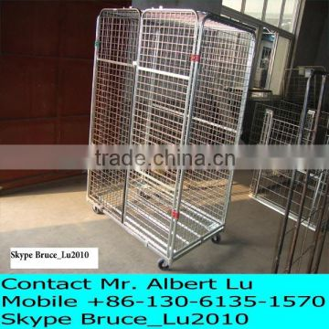 Steel Material and Four Wheel Cargo Trolley