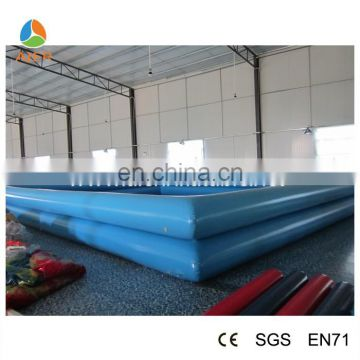 Blue inflatable water pool for zorb ball inflatable pool for water balls