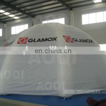 Guangzhou AOQI big discount newly design inflatable white tent square tent for kids