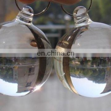 crystal glass smooth solid balls for lighting