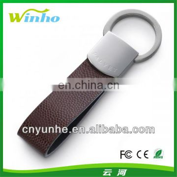 Personalized Leather Key Ring For Men