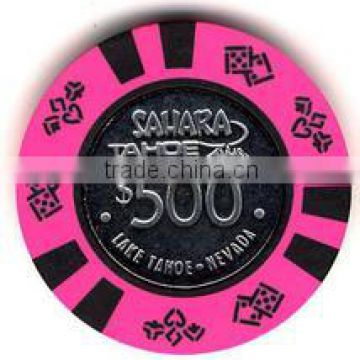 2 Colors Las Vegas Poker Chips