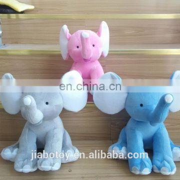 Wholesale Stuffed Soft Toy Big Ears Pink Plush Elephant Plush Big
