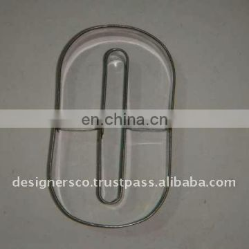 Stainless Steel Number Cookie Cutter
