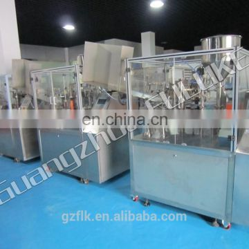 Tube filler and sealler (inner-heating type)/Plastic tube filling and sealing machine /toothpaste tube filler and sealler