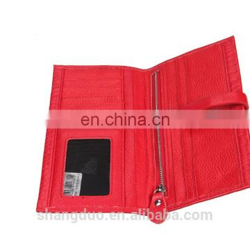 Factory direct sale lembossed crocodile leather card wallet