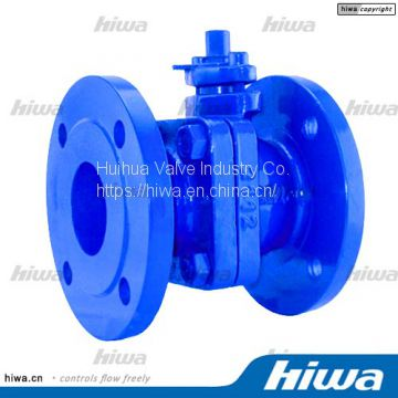 DIN3357 Reduced Bore Cast Iron Ball Valve