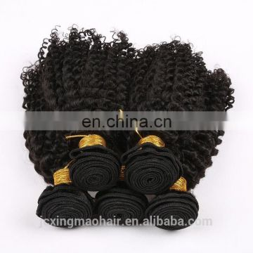 Best Selling 100% Human Hair Wholesale Factory Price brazilian kinky curly remy hair weave