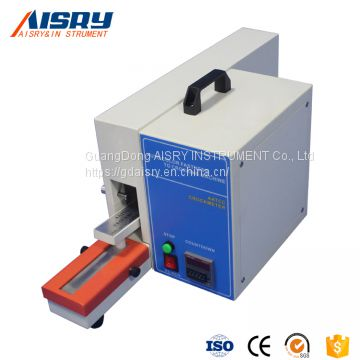 Quality Assurance Electric Wet and Dry Friction Decoloring Test Instrument