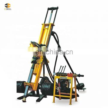 Good cost performance tunnel bolt steel hollow bar multifunction anchoring hole drill rig for drilling