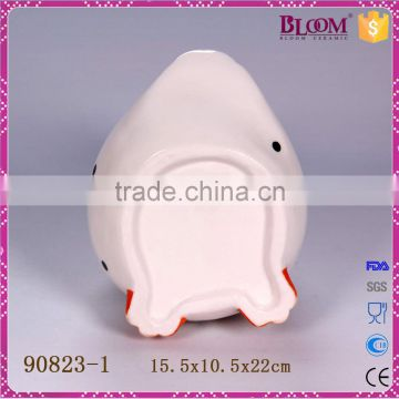 Wholesale novelty ceramic toilet brush holder