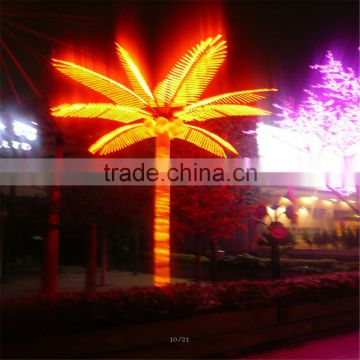 SJ20172236 artificial LED lights palm tree light up palm tree