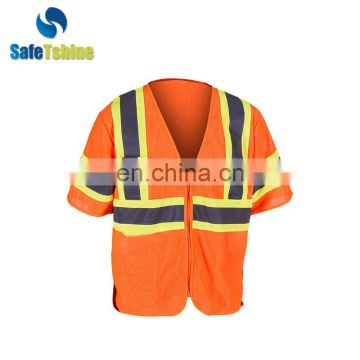 2015 The most durable reflective fluorescent high visibility safety vest australian
