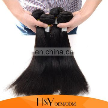 Aliexpress hair Indian Virgin Hair Cheap 7A Silky Straight 100% Human Hair Extension From HY Factory Outlet