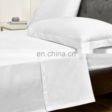 Wholesale cheap price 100% cotton bed sheet