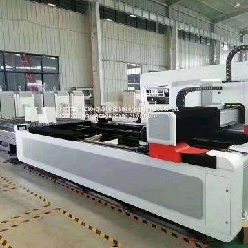 stainless steel gantry type laser cutting machine for metal laser cutter
