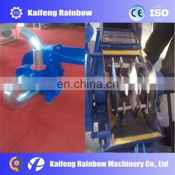 High carbon steel structure 9FQ animal feed grain crushing machine with big capacity