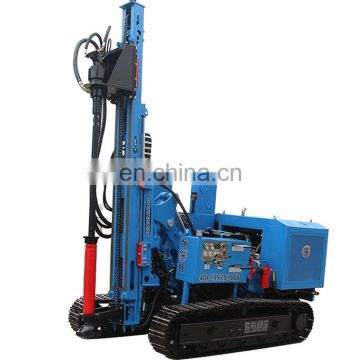 Hydraulic pile driver machines Fence Post hammer pile driver equipment