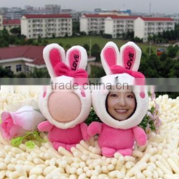 Wholesale diy 3d photo face doll your face doll print