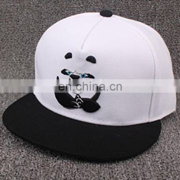 New Style China Cute Kung Fu Panda zoo animal film fans cartoon Adjustable hiphop Snapback cap hat Bone for young men women