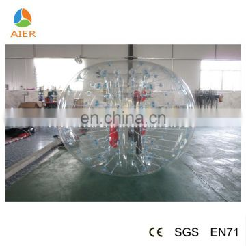 Transparent bubble soccer suit bubble soccer suit bumper ball