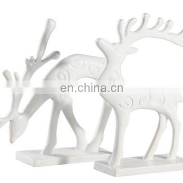 Customized unique modern deer animal figure decoration and gifts