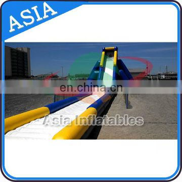 Hippo Giant Water Slide For Adult Commercial Slide Water Slip And Slide With Pool