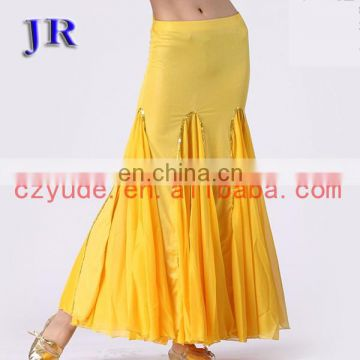 High ice silk and chiffon women long belly dnace costume dress Q-6009#