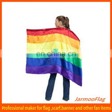 colorful plain rainbow body flag
