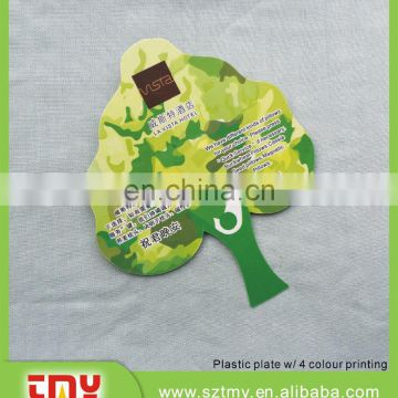 wholesale leaf shape plastic tag hotel leaf shape plastic tag