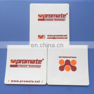 2D Company Logo PVC Cup Coaster, Promotional Cup Coaster With Company logo Website And Phone Number