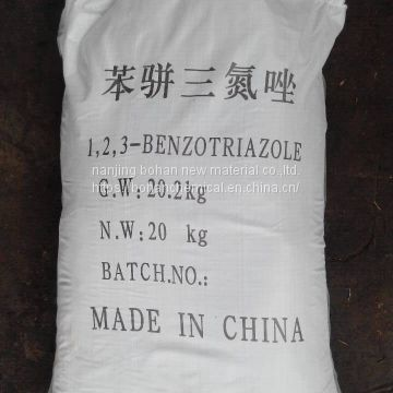 【factory supply】99.5%Min Benzotriazole (BTA)  (CAS: 95-14-7)