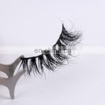 A14 3d mink eyelashes private label 3d silk eyelashes