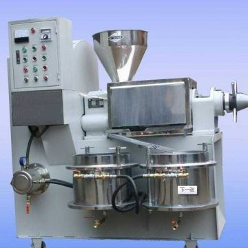 Cold Press Expeller Machine 1-1.5 T/24h Mustard Oil Expeller