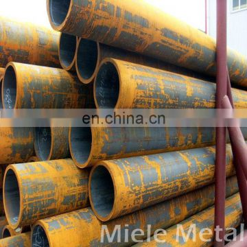 Q235 hot rolled carbon steel round pipe in stock