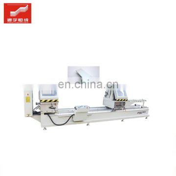 Double-head cutting saw for windows model in house milling making manufacturing machine Made China Low Price