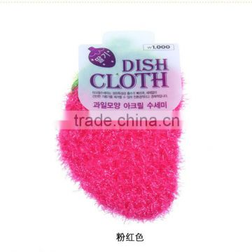 Kitchen Cleaning crochet cotton Sponge Scouring Pad                                                                                         Most Popular