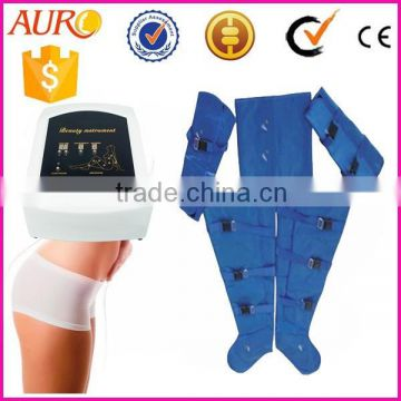 AU-7007 weight loss slimming massage lymphatic drainage men slimming shaper suit