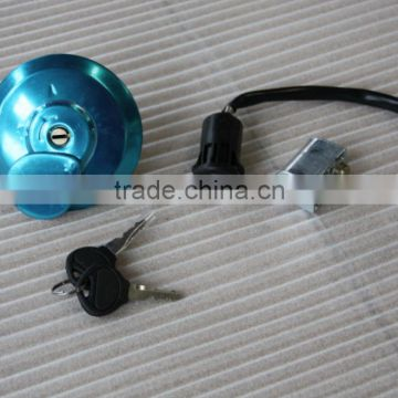Cheap motorcycle spare parts excellent quality best motorcycle fuel tank lock