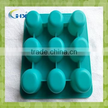 Sepcial Design For Silicone Ice Cube Tray With Handle/ice Cream Tray