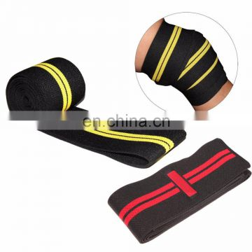 Weight Lifting Heavy Duty Knee Wrap Power-lifting Bodybuilding Gym Support Strap Powerlifting knee straps