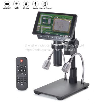 New LED light display advanced biological Laboratory Microscope
