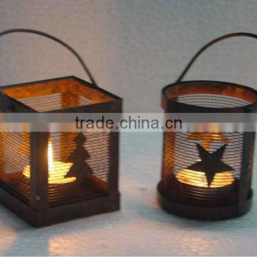 Christmas Decoration Candle Holders,X-mas T Light Candle Holders,Metal Candle Holders,Designer Candle Holders