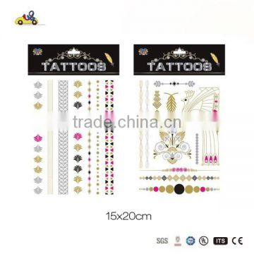 temporary tattoo with two for one