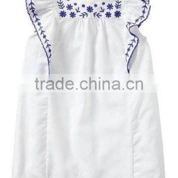 17dc4df35d8 Latest girls tops designs angle sleeve embroidery blouses high quality kids  clothing of New Products from China Suppliers - 144661860