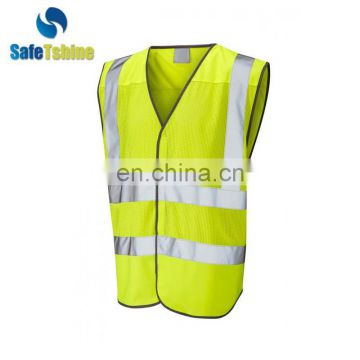 100% polyester safety reflective security vest