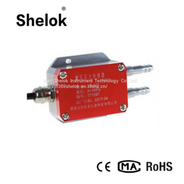 Micro pressure transmitter with 4-20mA pressure transducers