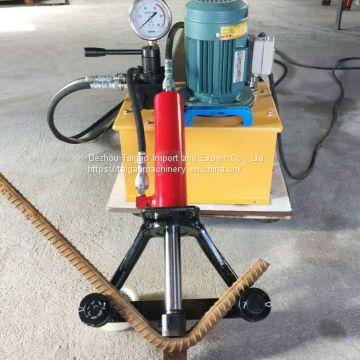 Selling rebar bender machine, portable rebar bender,steel